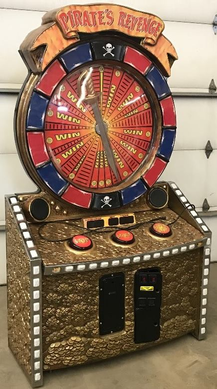 Pirates Revenge Spin Wheel Arcade